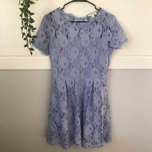 Francesca's Collections Dresses - Francesca's Stacia Tie Back Lace Dress